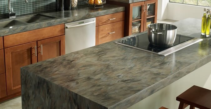 Corian countertops las vegas remodeling corian for Surell solid surface
